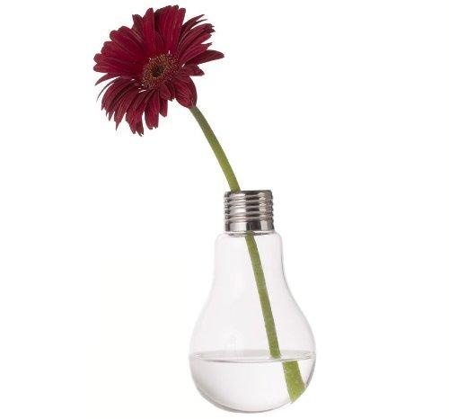 Vase In Form Einer Gluhbirne Objekt Deko Glas Und Moderne Kuche