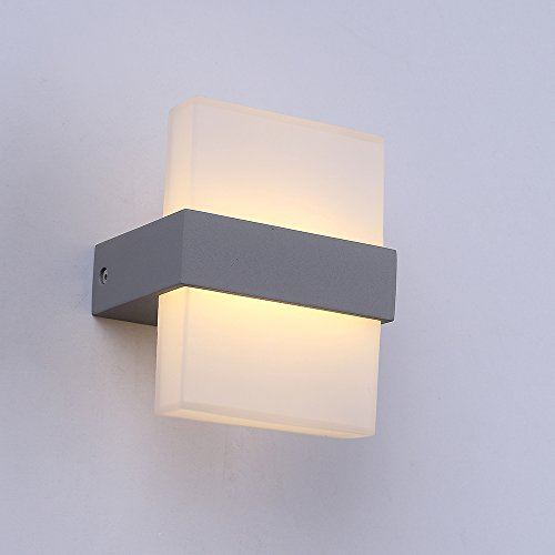 Lanfu Wandlampe Warmweiße Elegantes Und Modernes Design LED Wandleuchten  Ideal Für Schlafzimmer ,Wohnzimmer, Treppenhaus Und Lounges / 7 W /  150*120*90MM ...