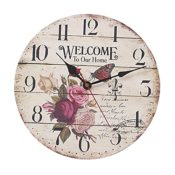 Wanduhr Landhausstil Shabby Design