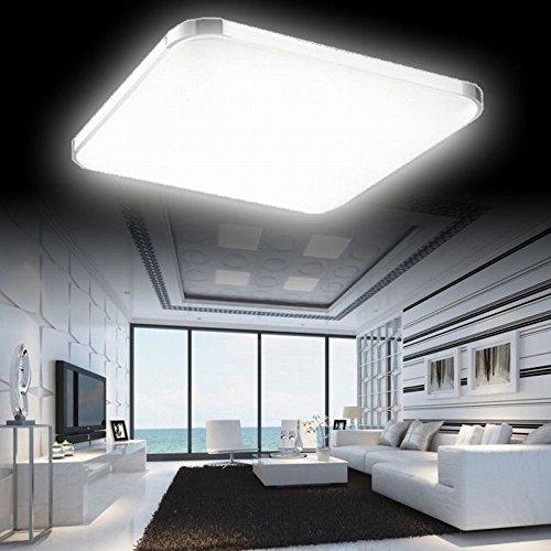mctech 36w kaltwei led deckenleuchte modern deckenlampe. Black Bedroom Furniture Sets. Home Design Ideas