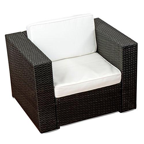 XINRO 19tlg XXXL Polyrattan Gartenmöbel Lounge Sofa günstig - Lounge ...
