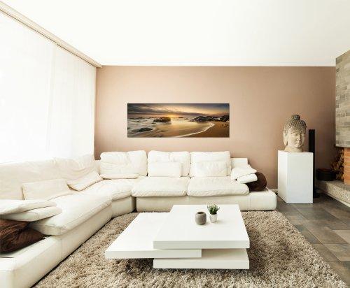... 120x40cm Bild Auf Leinwand Und Keilrahmen Fertig Zum Aufhängen Moderne  Wandbilder Bilder Bild Kunst Kunstdruck Deko