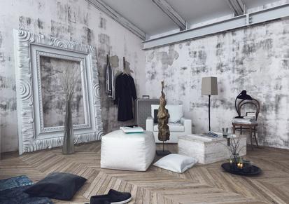 Rahmen für Wohnzimmer Bilder