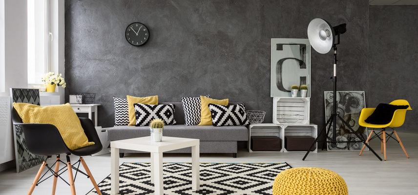Elegante Farben und geschmackvolle Möbel
