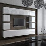 FUTURE Moderne Wohnwand, TV-Schrank