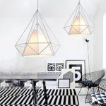 icase4u® Kronleuchter kreatives skandinavisches Design
