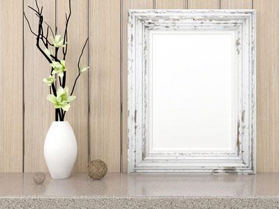 weiße dekovasen sind Trend