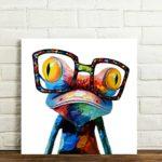 Leinwand Kunstdruck Frosch