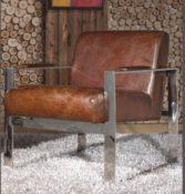 Echtleder Sessel