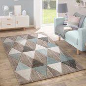 Teppich pastellfarben