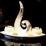 Moderne Keramik Skulptur