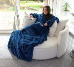 Flauschige Decke mit Ärmeln
