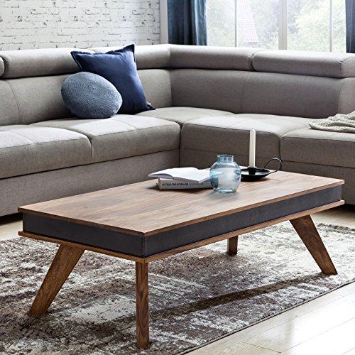couchtisch kunstleder vintagestyle. Black Bedroom Furniture Sets. Home Design Ideas