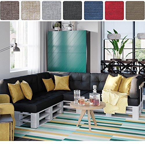paletten sitzecke der trend. Black Bedroom Furniture Sets. Home Design Ideas