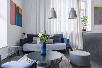 Wohnzimmer Hampton-Style
