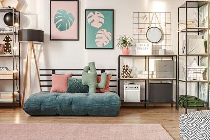 Wanddeko für das Wohnzimmer